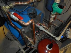 Газовое отопление на антифризе