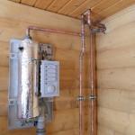 Электрическое и газовое отопление дома